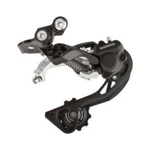 SCHIMBATOR SPATE SHIMANO DEORE XT RD-M786-GS, 10 VIT., TOP-NORMAL, SHADOW PLUS, PRINDERE DIRECTA (COMPATIBIL DIRECT MOUNT), NEGRU, AMBALAT IND.