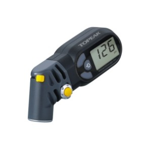 Manometru digital Topeak, Smart Gauge D2, TSG-02, max 250 PSI, 17 bar, LCD digital, smart head rotativ, 65 g, gri