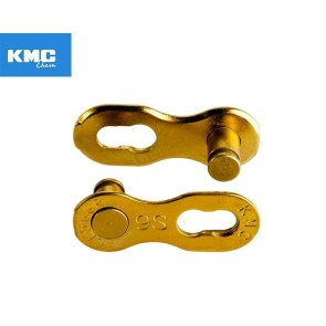 Zala KMC X9 Gold, Missing Link, pt.9 vit, Pin 6.6 mm, aurie